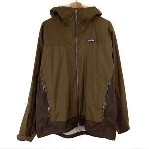 Patagonia Rain Shadow H2NO Brown Mens Jacket